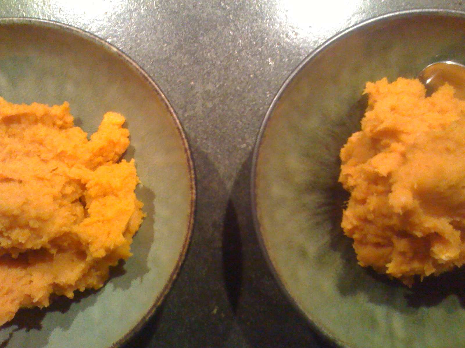 Sweet Potatoes, all mashed up