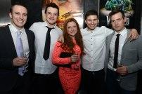 Michael Humphreys (Joey heart), Joe Darke (Topthorn heart), Emily Aston (Paulette), Gavin Swift (Geordie) and Finn Hanson (Captain Nicholls)