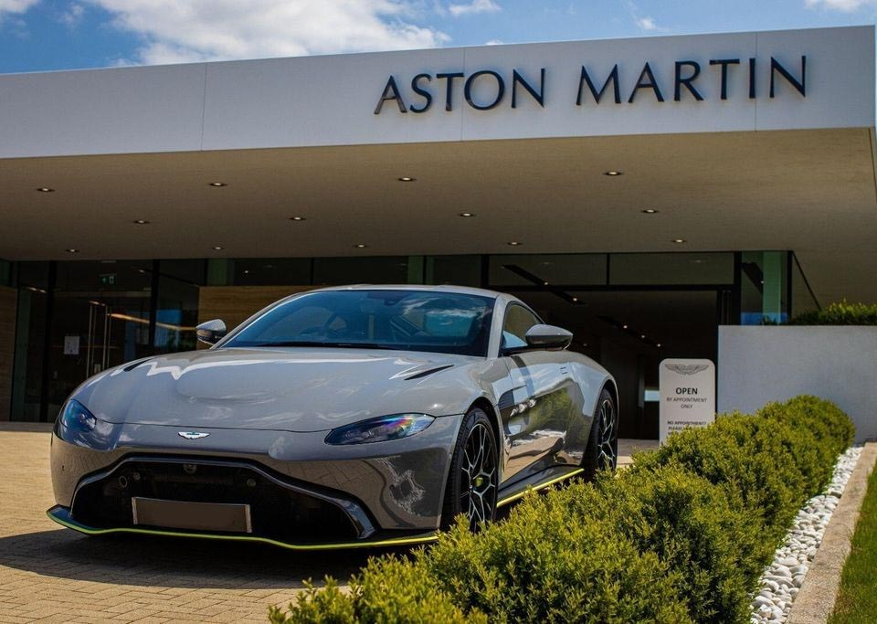 Birmingham Limo Hire. Aston-Martin-Vantage-AMR-Coupe-4.7