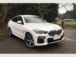 BMW X6 Sports Car rental