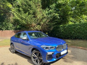 BMW X6 Sports car for hire