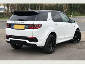 Land Rover Discovery Sport airport transfer birmingham