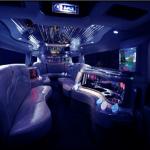 hummer limo birmingham interior