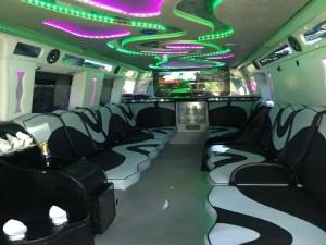 Prestige Party Bus Limos in Birmingham