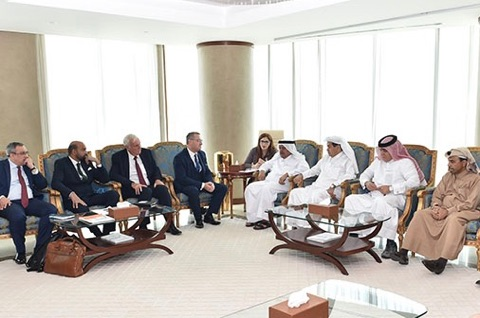 Meeting with Qatar Business Association