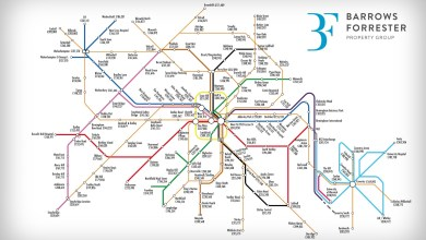 Photo of The West Midlands house price 'tube map'