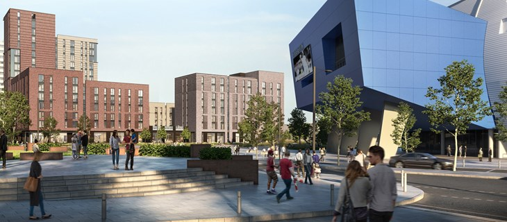 £93 million phase two of Edgbaston masterplan starts construction