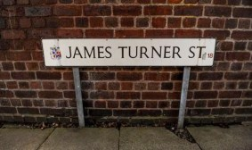 James Turner Street - sign