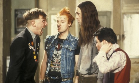 Rik shouting - Young Ones