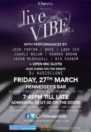 Live Vibe - 27.03.15