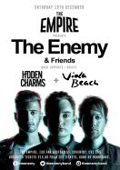 The Enemy - tour poster