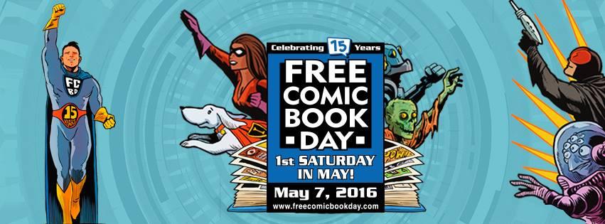 Free Comic Book Day - land