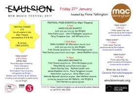 BPREVIEW: Emulsion Festival @ mac 27.01.17
