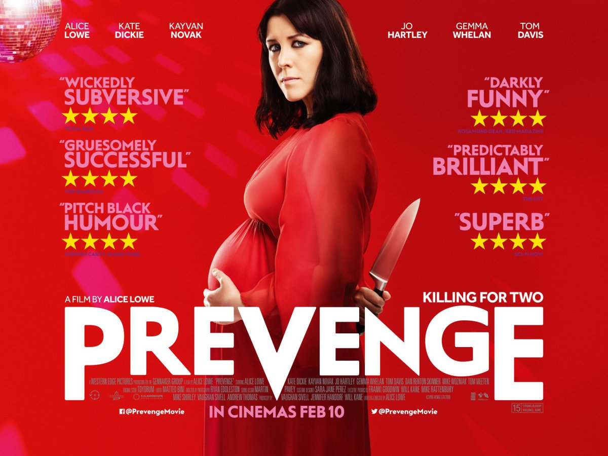BPREVIEW: Prevenge @ The Mockingbird Cinema & Kitchen 22.01.17