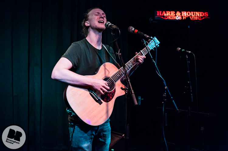 Ed Geater @ Hare & Hounds 24.03.17 / Rob Hadley - Birmingham Review