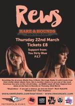 Rews @ Hare & Hounds 22.03.18