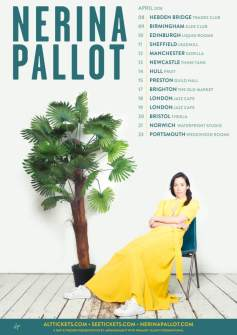 BPREVIEW: Nerina Pallot @ The Glee Club 09.04.18