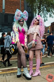 Amber Cadavarous and Rosary Bee at Birmingham Pride 26-7.05.18 / Eleanor Sutcliffe