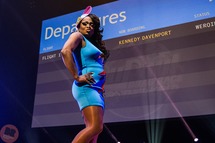 Kennedy Davenport - RuPaul's Drag Race Werq the World Tour @ Symphony Hall 27.05.18 / Eleanor Sutcliffe