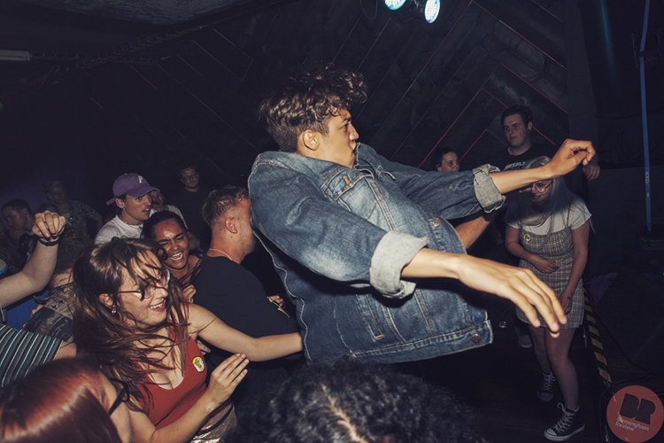 P.E.T @ The Sunflower Lounge 01.07.18 / Paul Reynolds