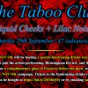 The Taboo Club - banner, NNNOK drinks reception