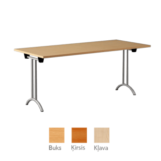 Konferenču galds 160x80 cm