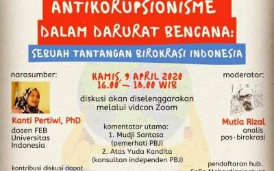 Antikorupsionisme Dalam Darurat Bencana: Sebuah Tantangan Birokrasi Indonesia