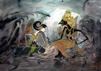 Raja Krisna dan Mahamantri Rakryan