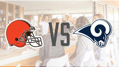 9/22 – Browns VS Rams