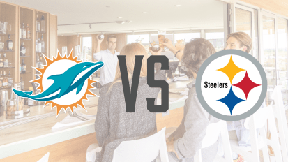 10/28 – Dolphins VS Steelers