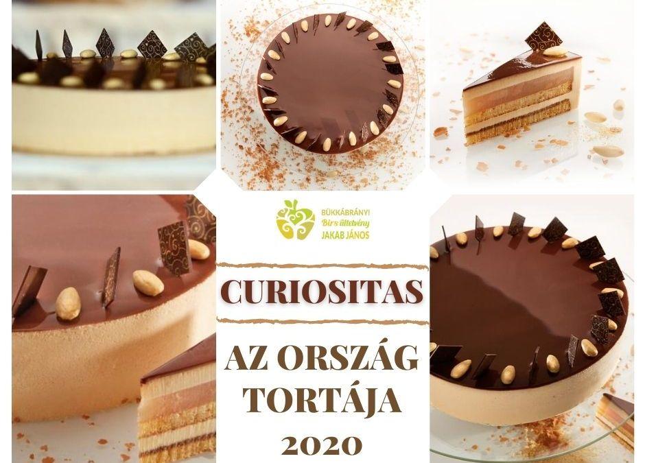 MAgyarország tortája 2020 - Curiositas - biralmás mandulás torta recept