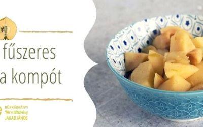 A birsalma kompót receptje és elkészítése kellemes fűszerekkel