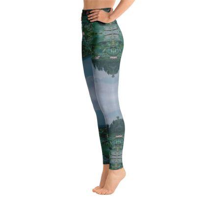Lotus Meditation Yoga Pants Leggings