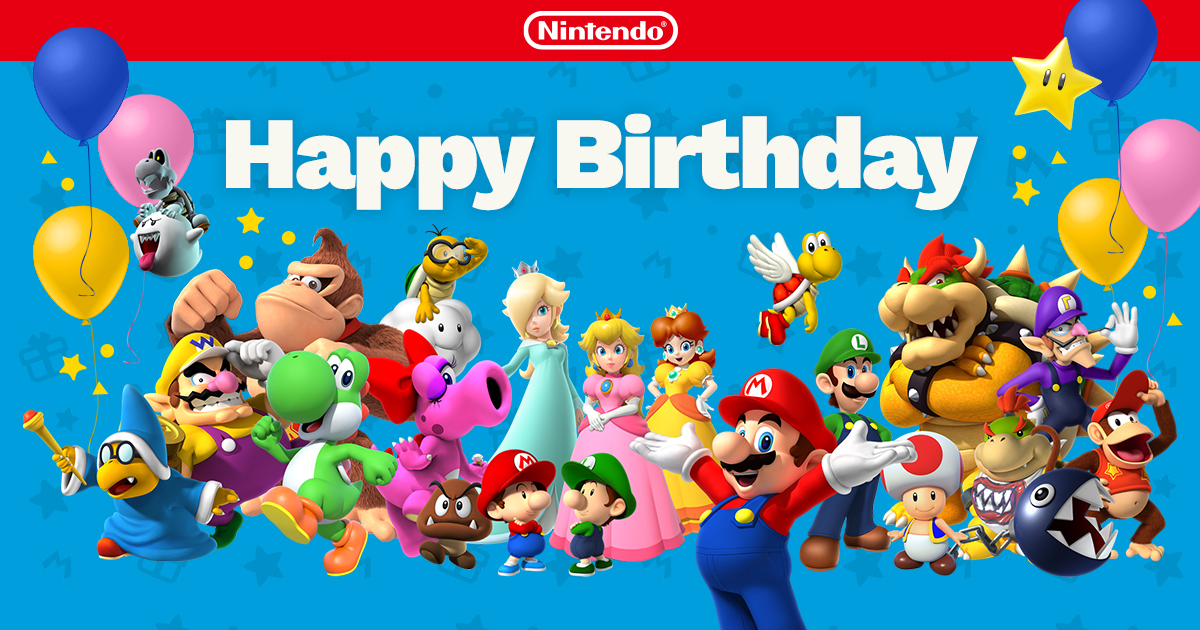 Happy Birthday From Nintendo