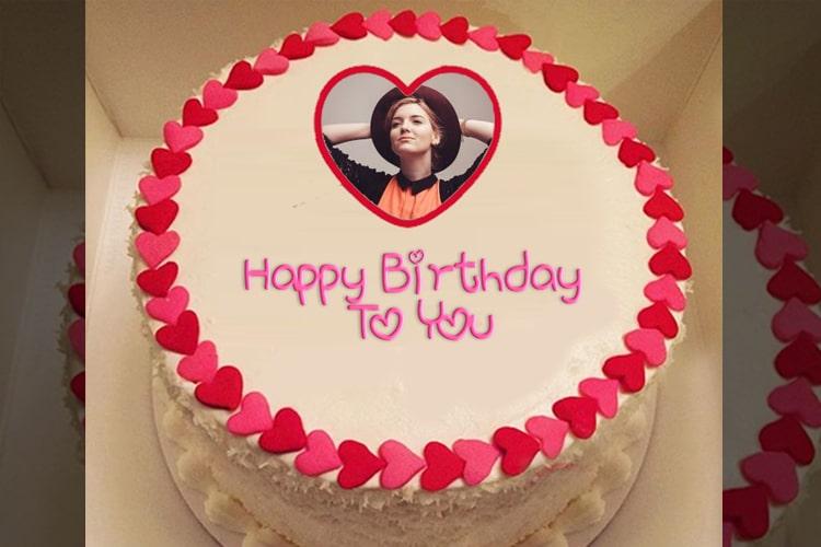 Photo Birthday Cake With Name