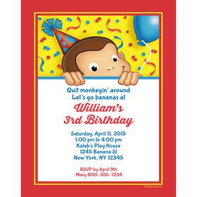 curious george party ideas toddler