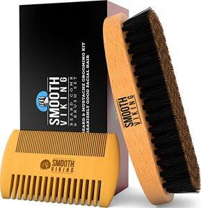 Beard Comb and Brush Kit