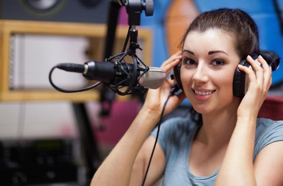 Radio birthday wish broadcast
