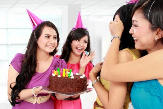 surprise birthday party for her