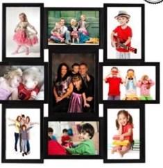 Deep 9 Photos Collage Frame