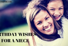 BIRTHDAY WISHES FOR A NIECE