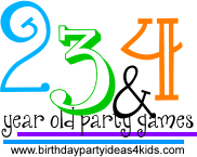Birthday Party Games For 2 3 And 4 Year Olds