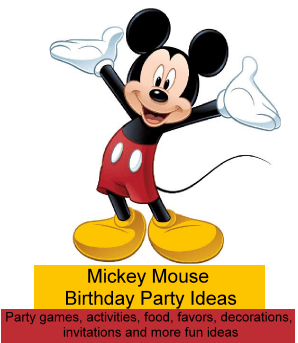 Mickey Mouse Party Ideas Birthday Party Ideas For Kids