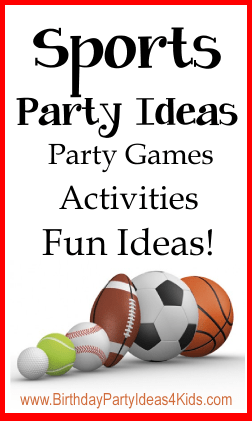 Sports Birthday Party Themes For Kids