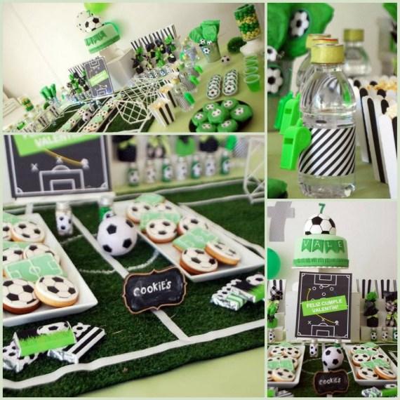 Soccer Themed Birthday Celebration