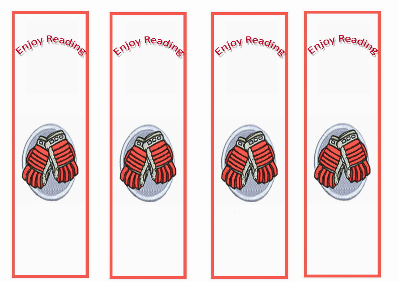 Hockey Bookmarks