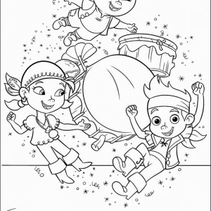 jake and the never land pirates coloring pages birthday printable