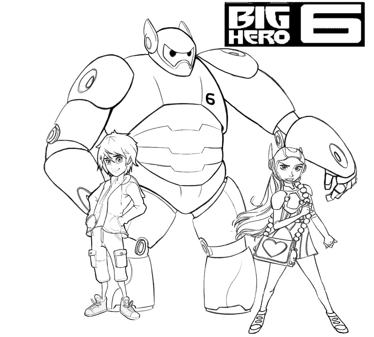 big hero 6 coloring pages birthday printable