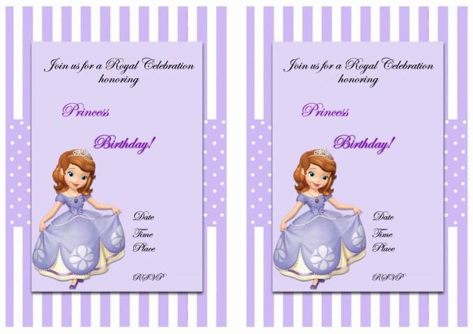 Sofia the first birthday invitations free printables newsinvitation sofia the first birthday invitations filmwisefo