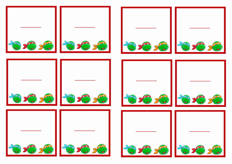 Images About Teenage Mutant Ninja Turtles Printables